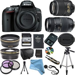 Nikon D5300 bundle deal