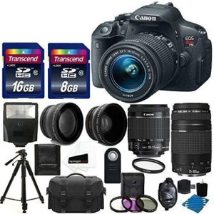 Canon t5i Bundle deals